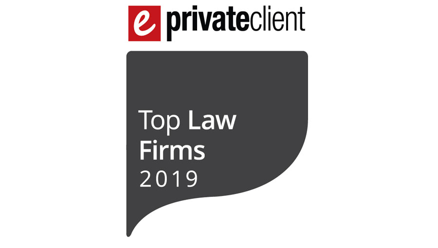 NQP is a 2019 ePrivateclient Top Law firm - New Quadrant Partners
